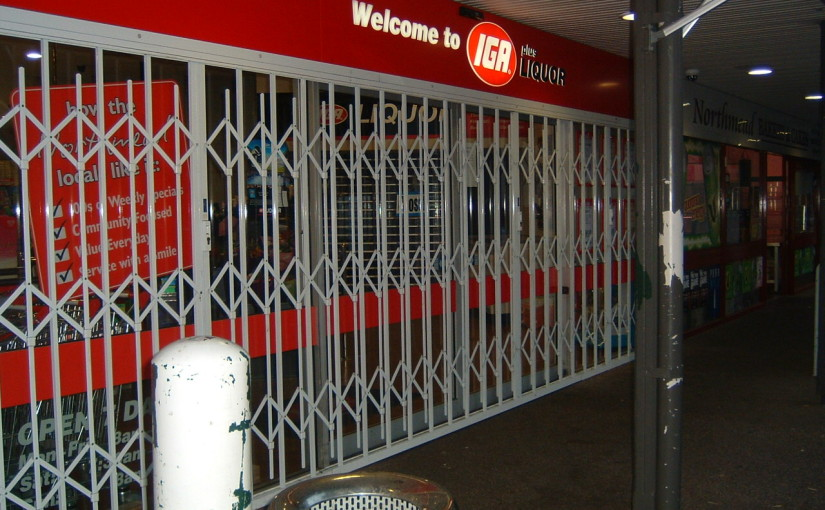 TRELLIS DOORS INSTALLED ACROSS METCASH BRANDED COMPANIES AUSTRALIA WIDE