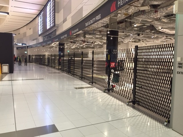 INCREASED FOCUS ON SHOPFRONT SECURITY FOR AIRPORT RETAILERS
