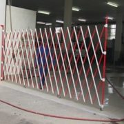 Aluminium Barrier Red and White