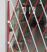 Aluminium Barrier Red and White2