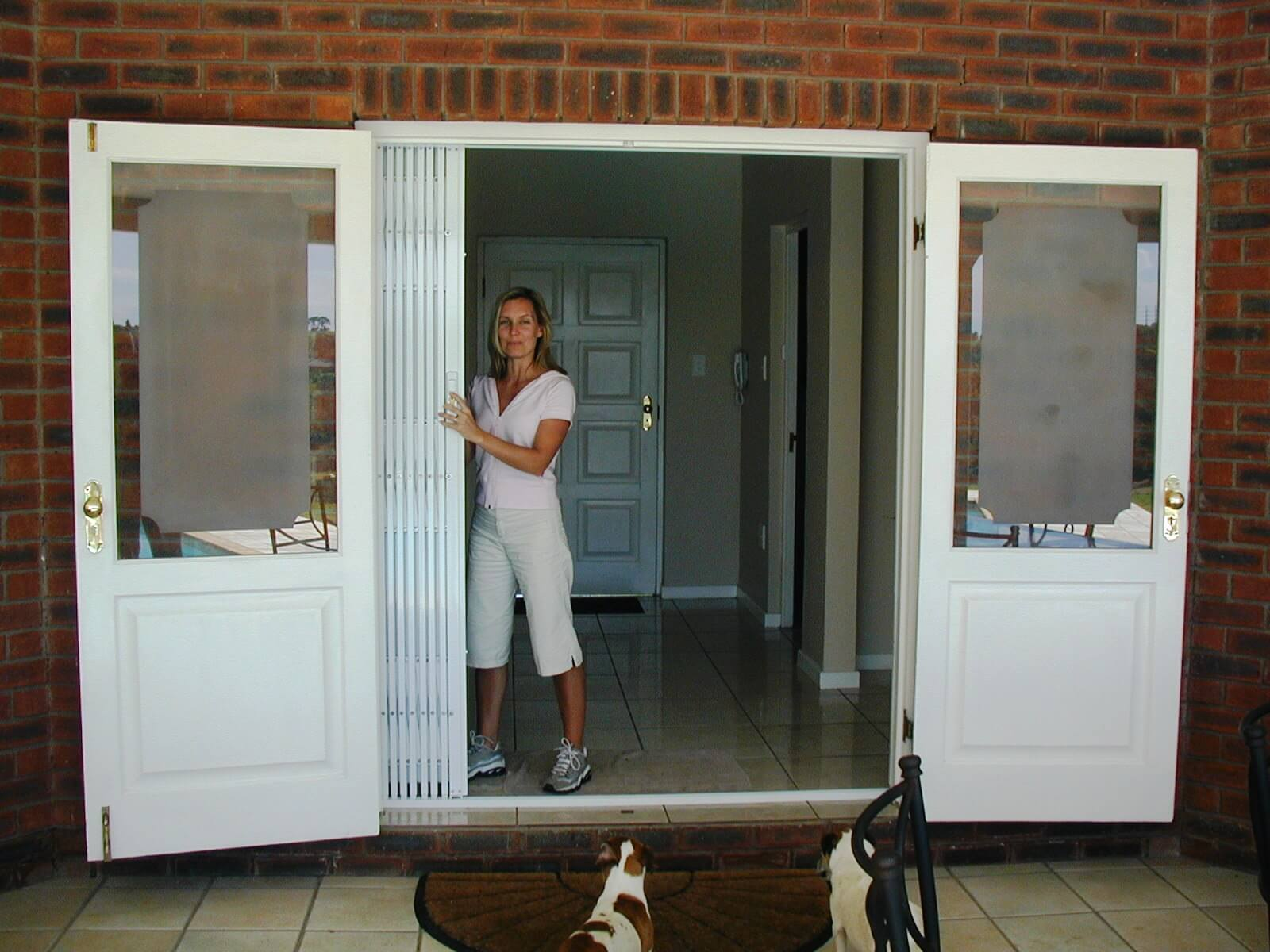 Bifold Doors S03 Concertina Steel Security Door The