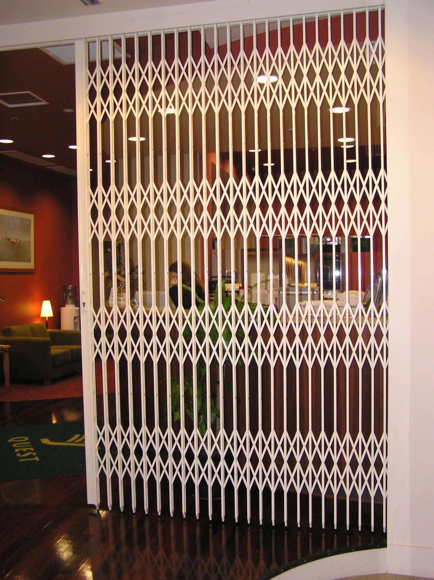 concertina door perth concertina door newcastle concertina door melbourne ... & Concertina Door - S05-1™ Heavy Duty Security Door | The Australian ...