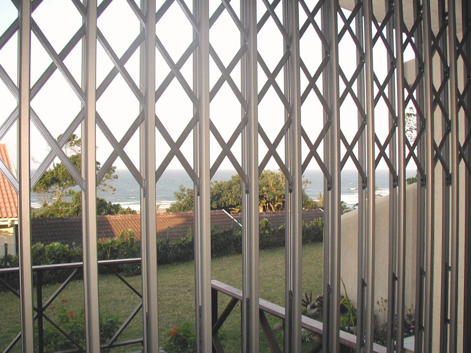 Aluminium Security Door The Australian Trellis Door Co