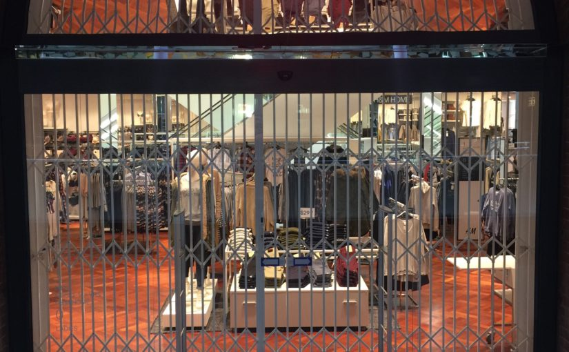 ATDC Completes Installation of Security Scissor Gates for H&M in Perth