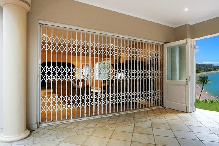 What are security doors?