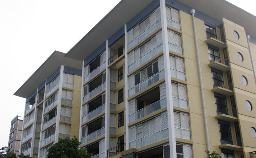 Security Plantation Shutters for High Rise Apartment Blocks