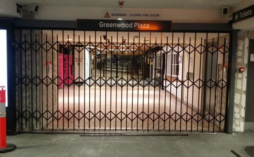 ATDC Installs Commercial Security Grilles for North Sydney Railway Station