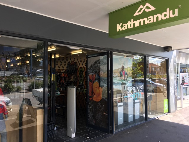 ATDC Installs Expandable Security Barriers at Kathmandu Stores Australia