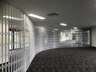 SPECTACULAR COMMERCIAL SECURITY SCREENS FOR KOORINGAL GOLF CLUB