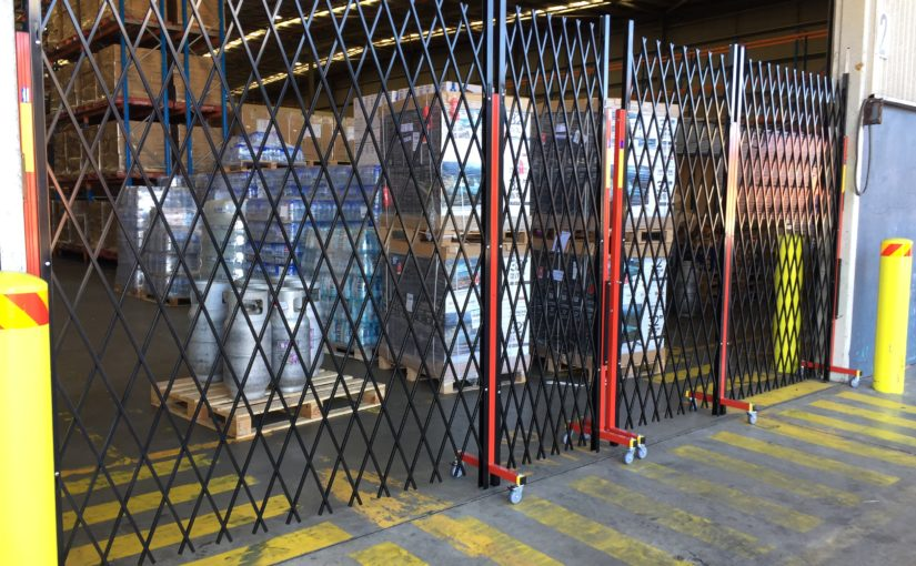 BONDED WAREHOUSING DEMANDS EXPANDABLE FENCING