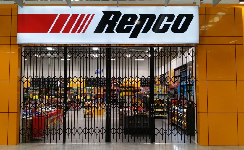COMPACT SECURITY GATES FOR REPCO PENRITH