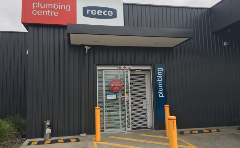Reece Plumbing Chooses ATDC's Shopfront Security Doors