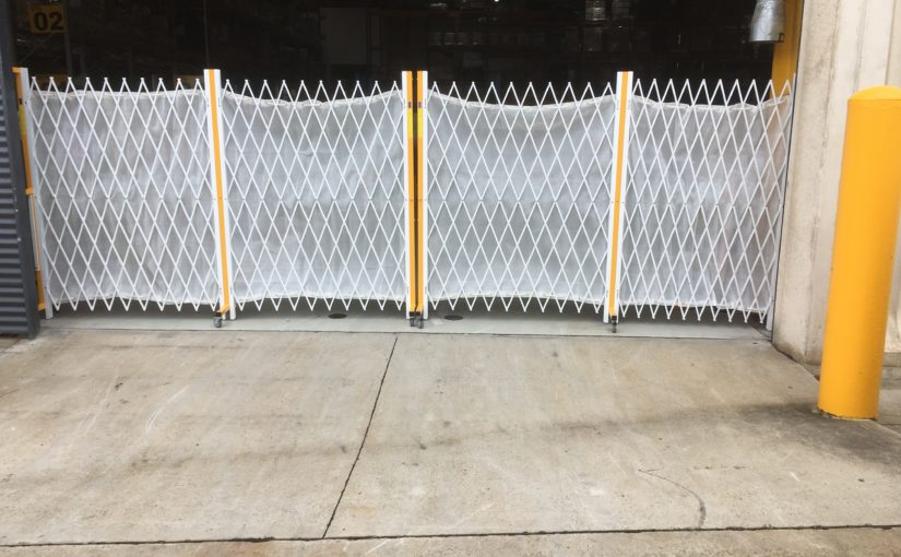 LVMH CHOOSE UNIQUE WAREHOUSE SAFETY BARRIERS