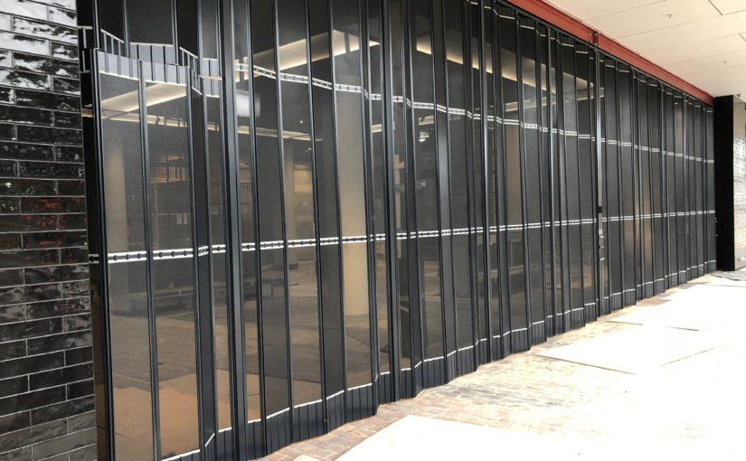 PREMIUM GRADE STACKABLE DOORS  SECURE PRESTIGIOUS SYDNEY COMMERCIAL PROJECT