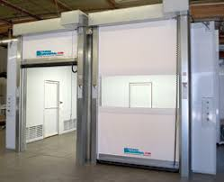 Use of Rapid Roll High Speed Doors in Cold Storage Environments