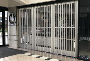 Retail Folding Closure Door