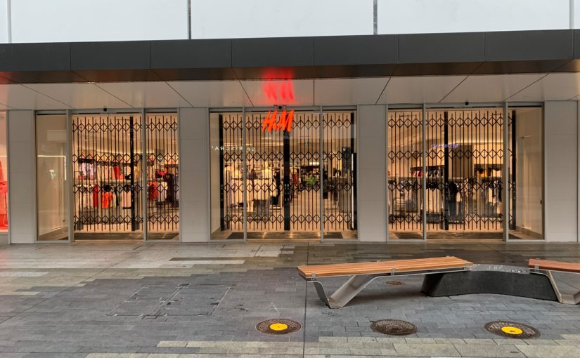 Security Shutters for H&M