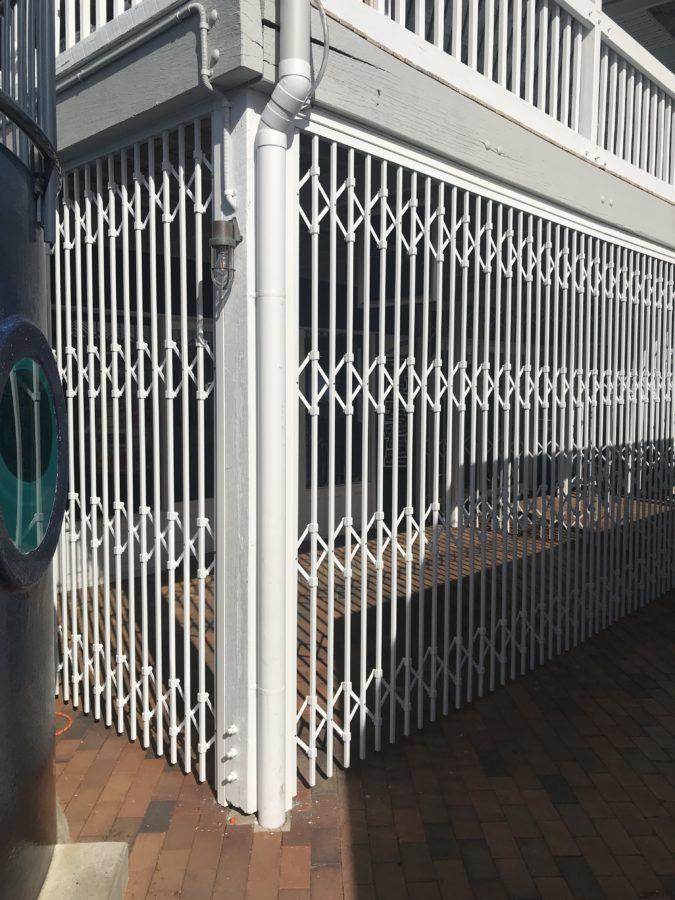 High End Folding Aluminium Security Door