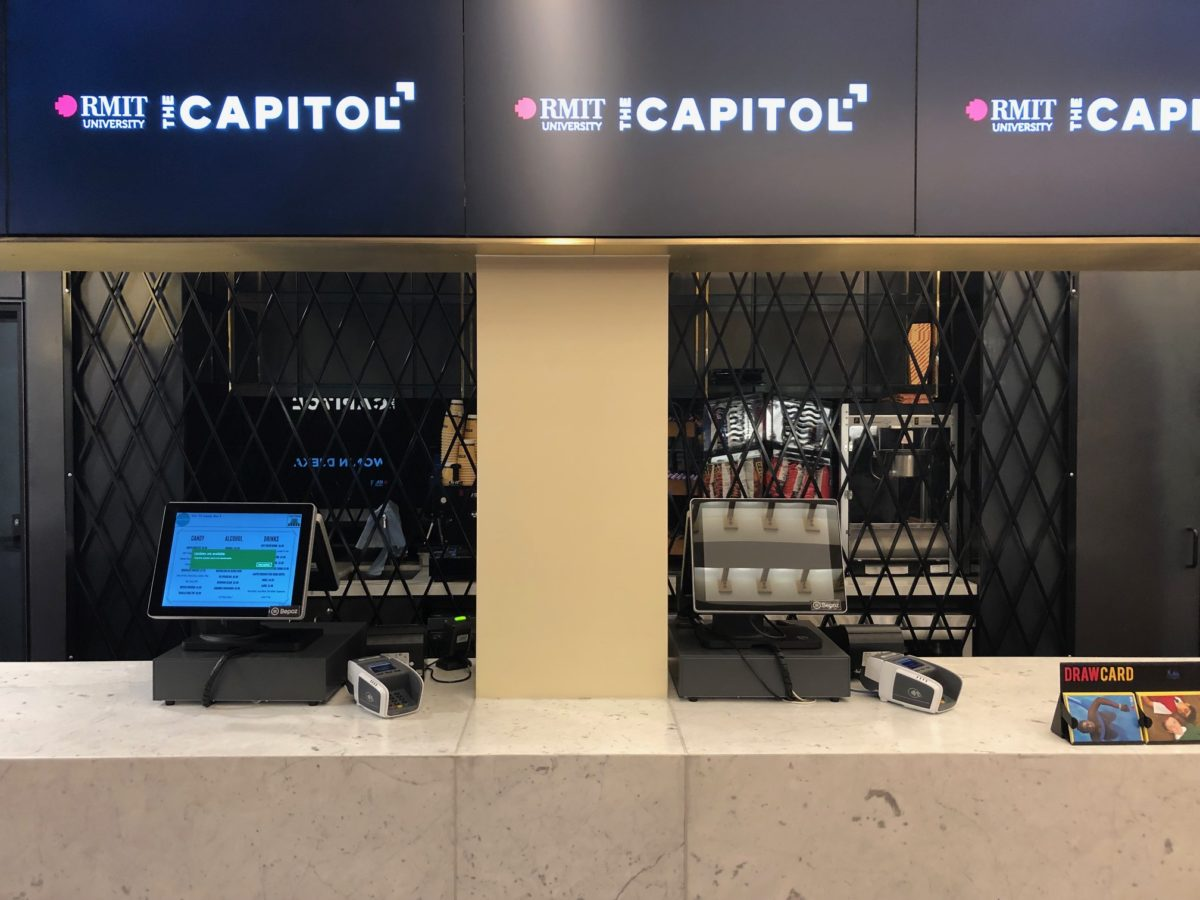 Capitol Theatre Arcade Folding Security Shutter