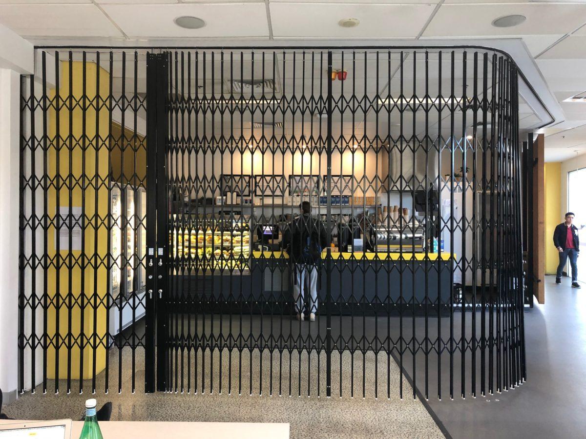 Curved Security Doors Deakin University