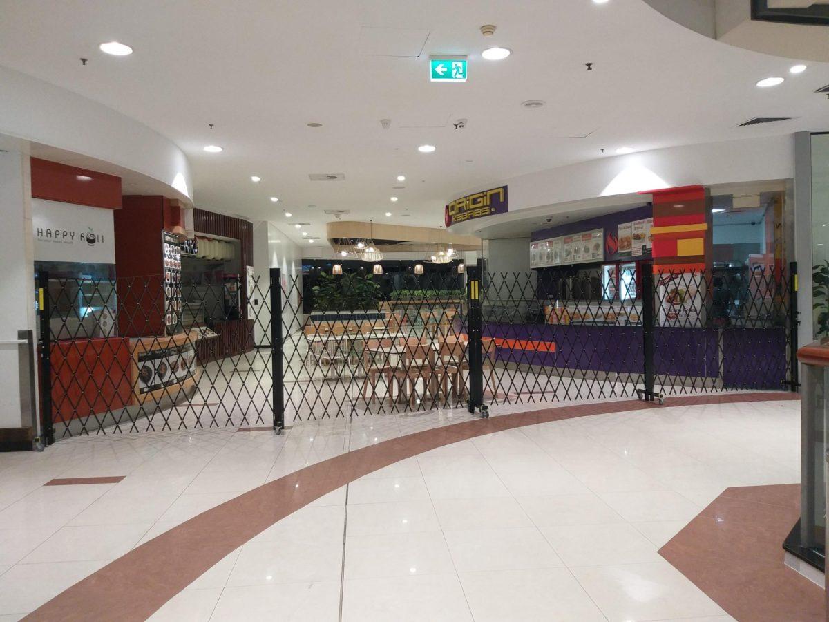 Roll and Folding Security Doors for Australia Fair