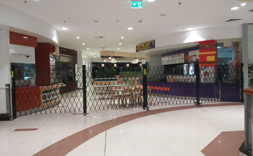 Roll and Folding Security Doors for Australia Fair