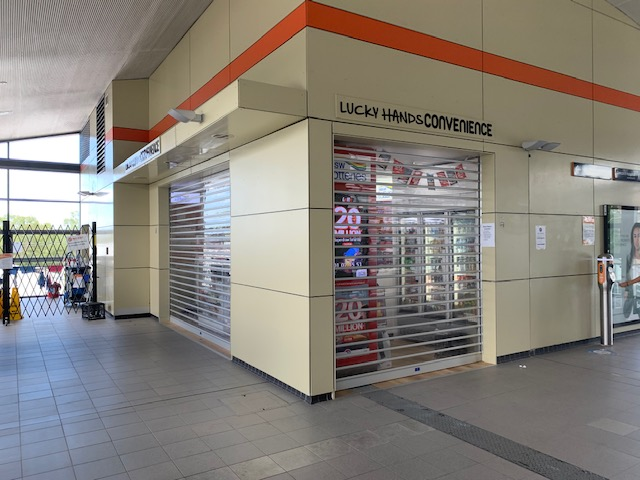 Clearvision Roller Shutters for Rhodes Railway Station