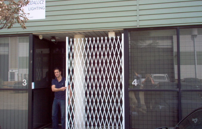 DIY SECURITY DOORS FOR BUSINESSES GOING INTO LOCKDOWN