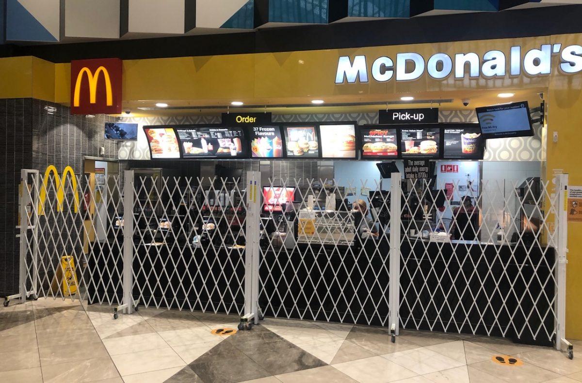 CONTROL BARRIER McDonalds