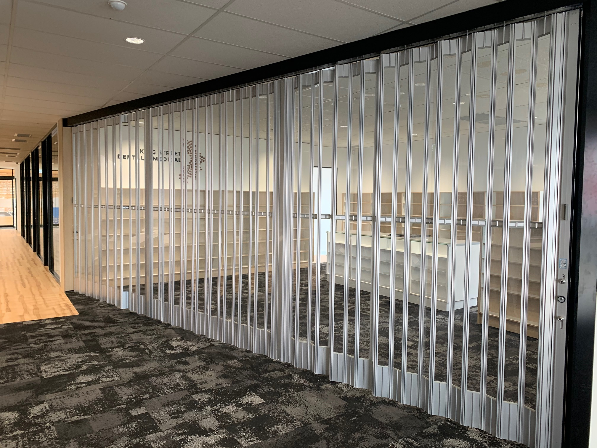Commercial Folding Closure Office Fitouts