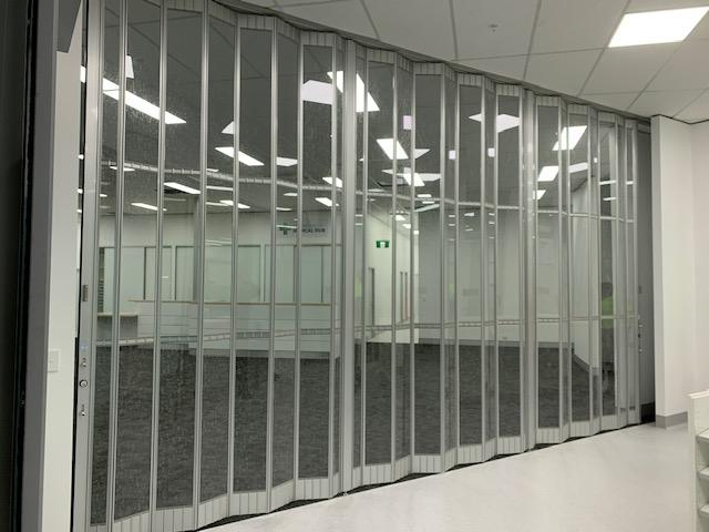 Greenway Medical Centre Folding Door
