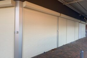 Remote Operated Roller Shutters