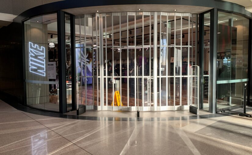 Quality folding commercial doors from ATDC