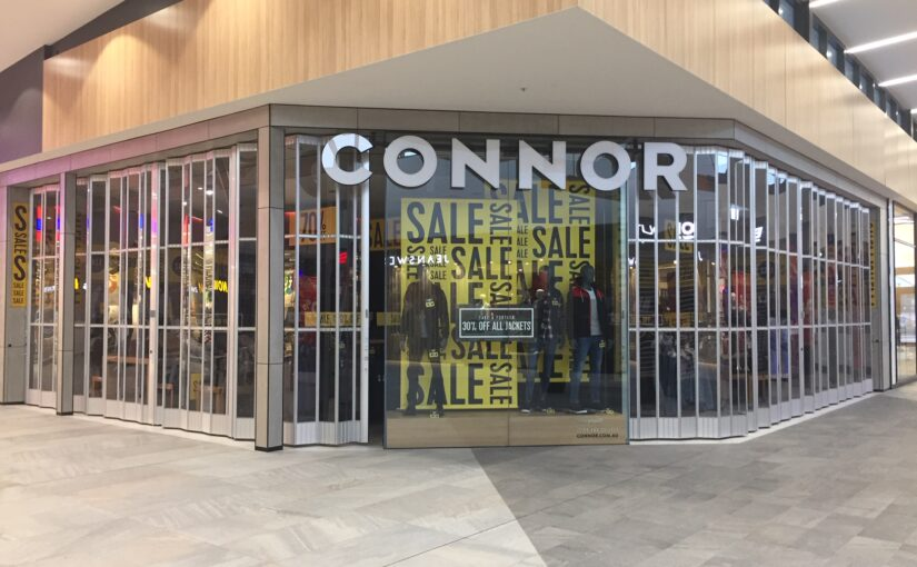 Quality Commercial Folding Doors appeal to Australian household brand name companies