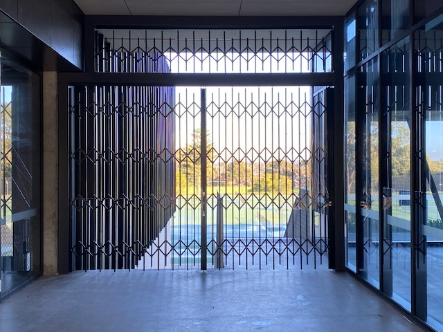 Expanding Security Doors are ideal for Schools, Tafes, Colleges, Universities